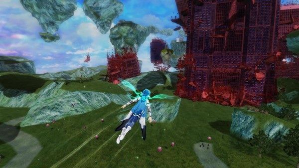 Accel World VS Sword Art Online Deluxe Edition PC Full Version Screenshot 2