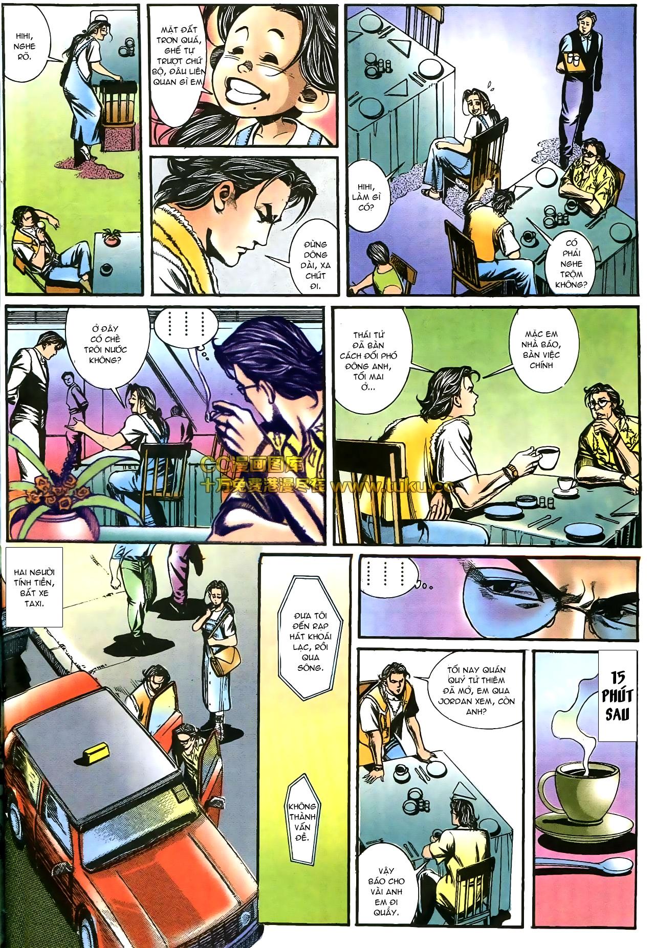 Người Trong Giang Hồ chapter 178: bối cảnh quạ đen trang 8