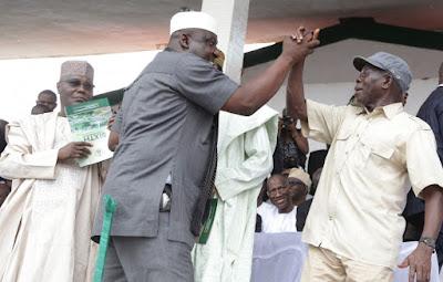 Rochas Okorocha Warns Oshiomhole For Insulting Obasanjo
