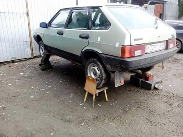 Такое возможно только в России (16 фото)