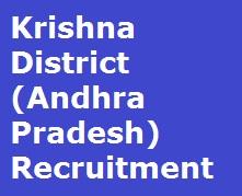 Krishna District Recruitment 2017, www.krishna.nic.in