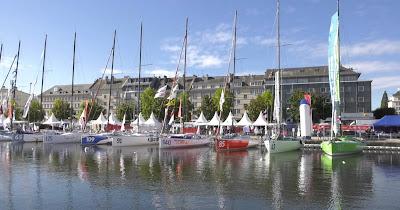 normandy channel race 2018 se prépare à Caen
