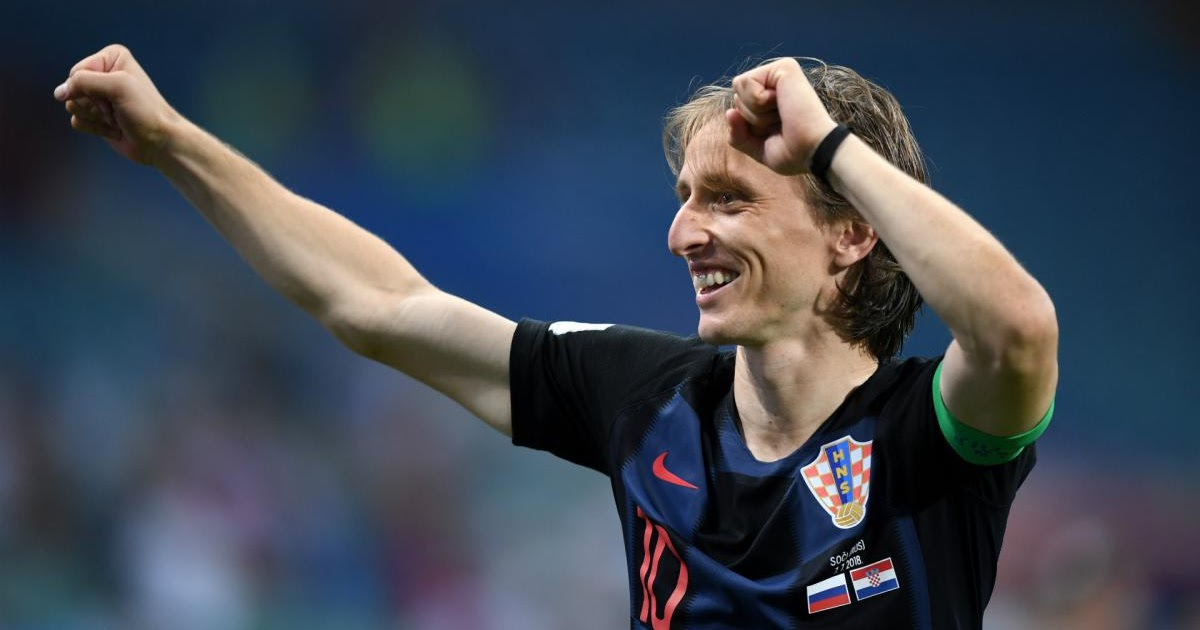 Modric Beats Christiano Ronaldo and Mohamed Salah to UEFA Player of the Year Award