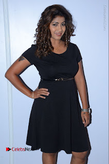 Tollywood Actress Geethanjali Thasya Latest Pos in Black Short Dress at Nanna Nenu Na Boyfriends Audio Launch  0027.JPG