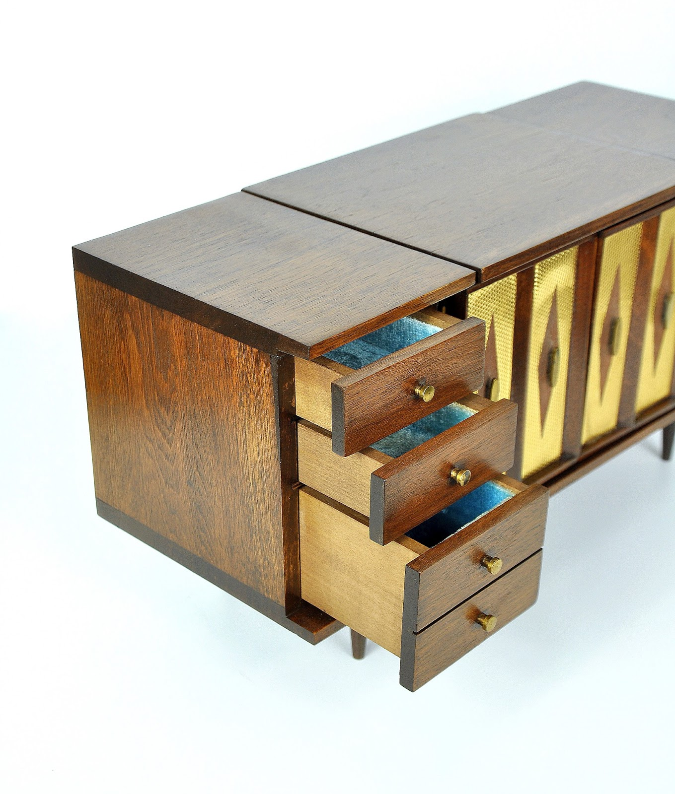 Select Modern Miniature Mid Century Modern Dresser