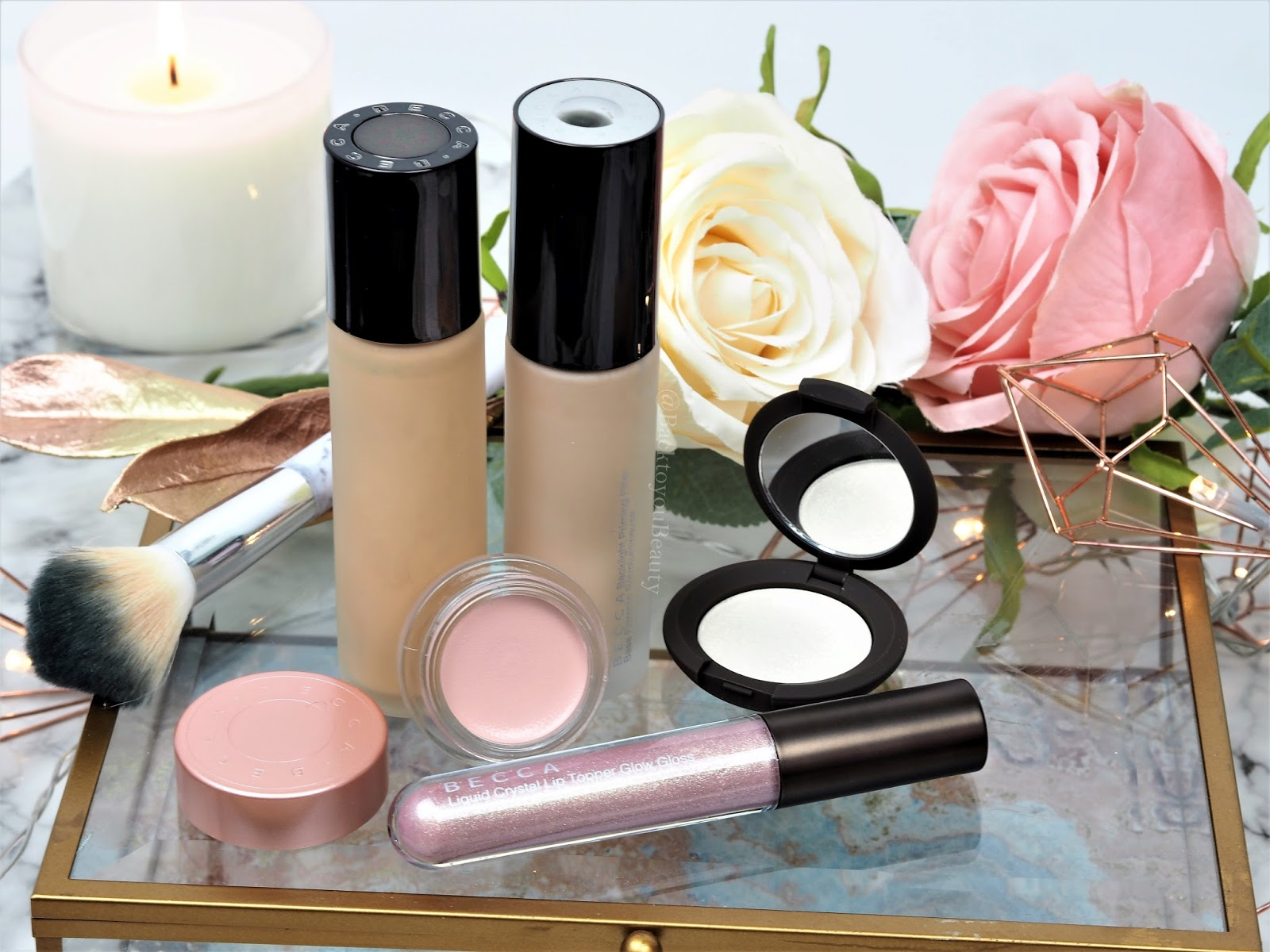 Becca 5 piece glow collection qvc tsv