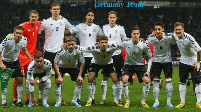 German Football Team of 2014