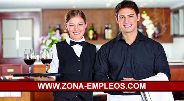 SE BUSCAN CAMAREROS/AS PARA IMPORTANTE HOTEL