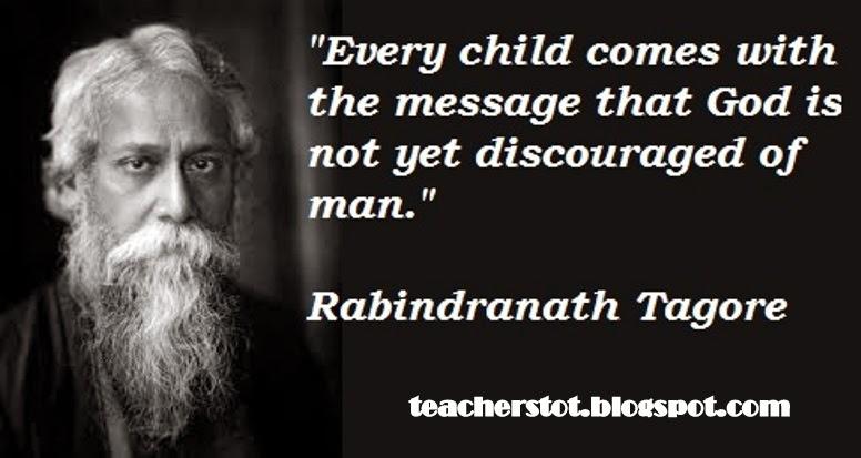 Rabindranath tagore on education