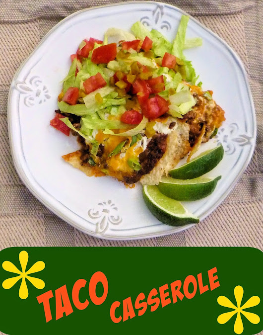 Ms. enPlace: Chips for Supper! {Taco Casserole}