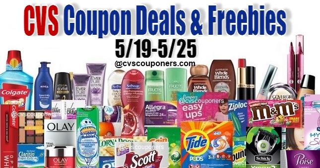 CVS Couponers Deals & Freebies - 5-19-5-25