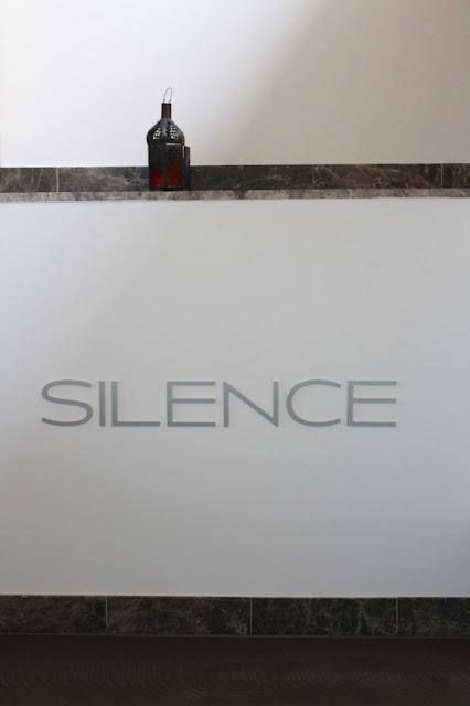Saunaduft und absolute Ruhe. Silence im Hotel Auersperg ind Salzburg.