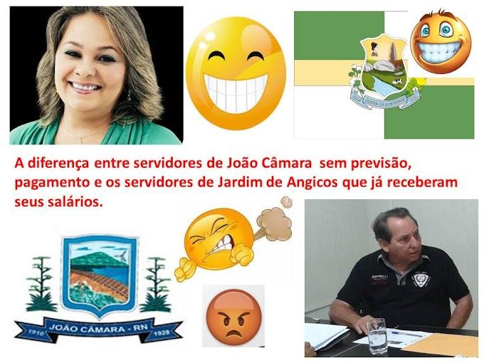 A prefeitura de Jardim de Angicos,informa através da Secretaria de Finanças,que os vencimentos dos funcionários municipais, referente ao mês de Junho de 2016,já se encontra creditado na conta dos servidores.