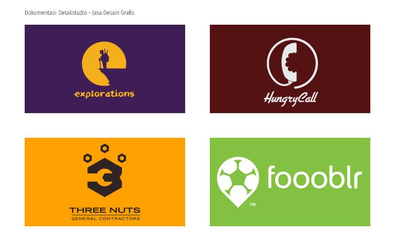 Contoh Logo Unik Menggunakan Negative Space