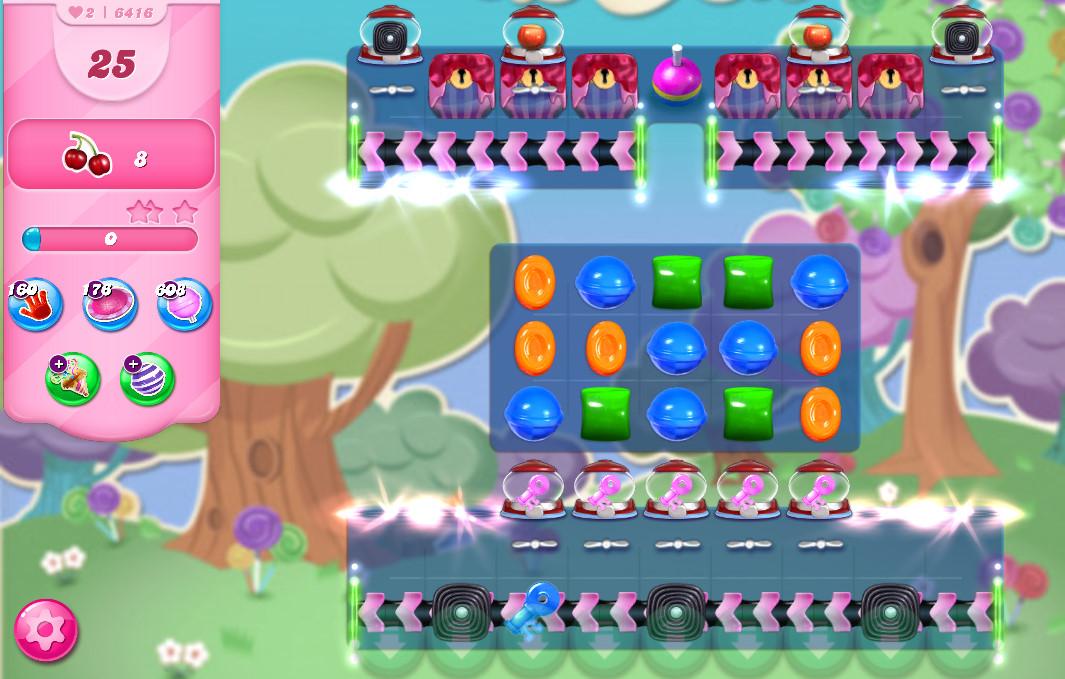 Candy Crush Saga level 6416