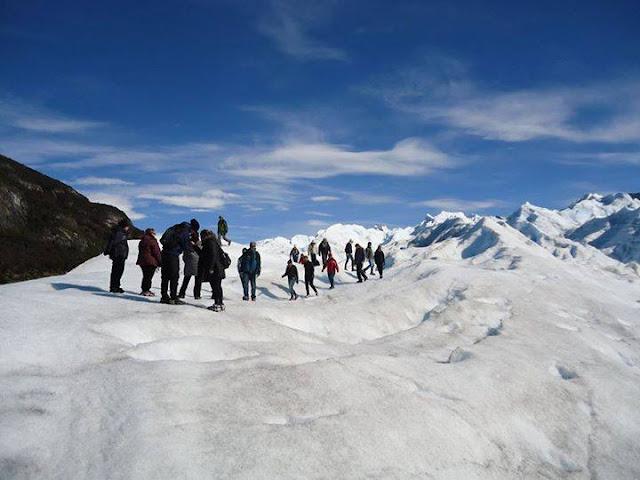 Trecking no Glaciar Perito Moreno, em El Calafate