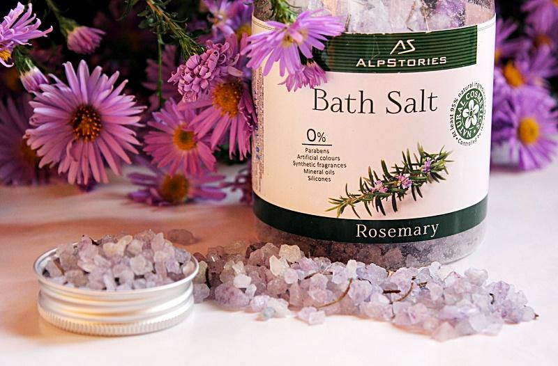 Соль для ванн с розмарином AlpStories Bath Salt Rosemary / обзор, отзывы