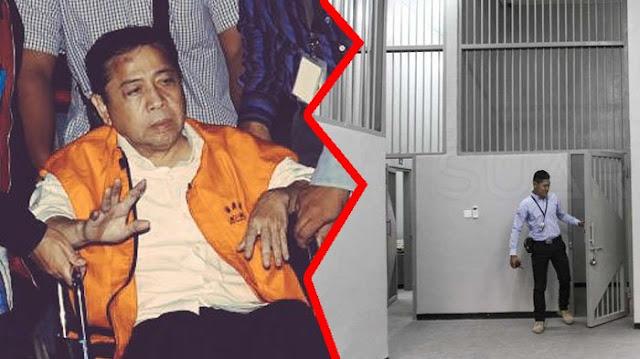 Sel Tahanan KPK Setya Novanto