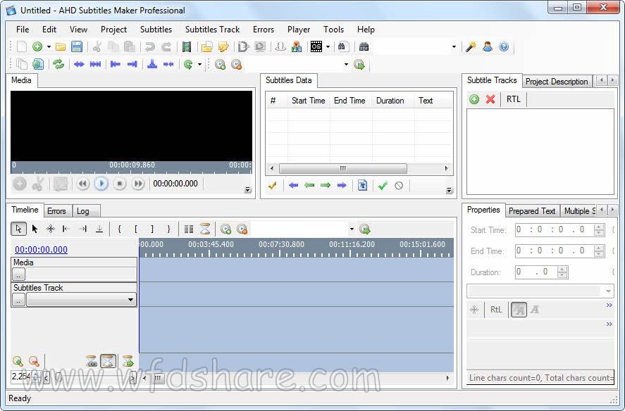 AHD Subtitles Maker Pro Full Version Gratis