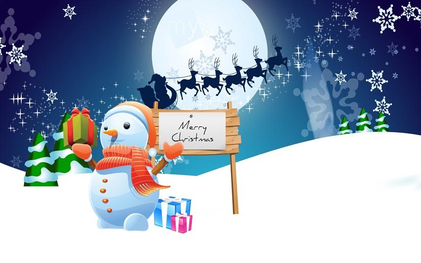 Cute Snowman Greeting