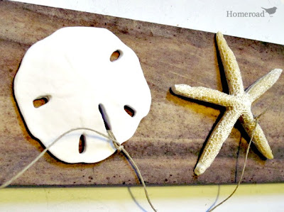 How to Make Sand Dollar Garland