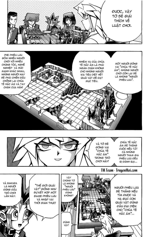 YUGI-OH! chap 51 - thế giới quái vật trang 5