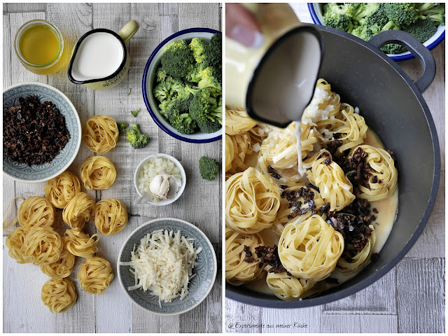 Experimente aus meiner Küche: One Pot Pasta mit Milch