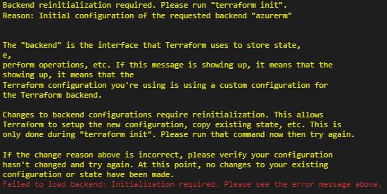 Technical Deep Dive: Terraform - Failed to load backend