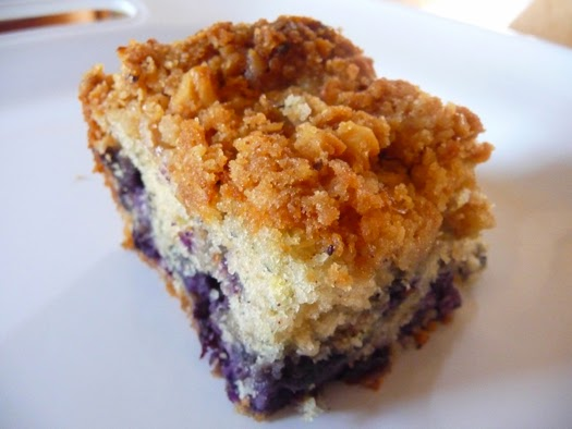 Blueberry Coffee Cake With Crumb Topping