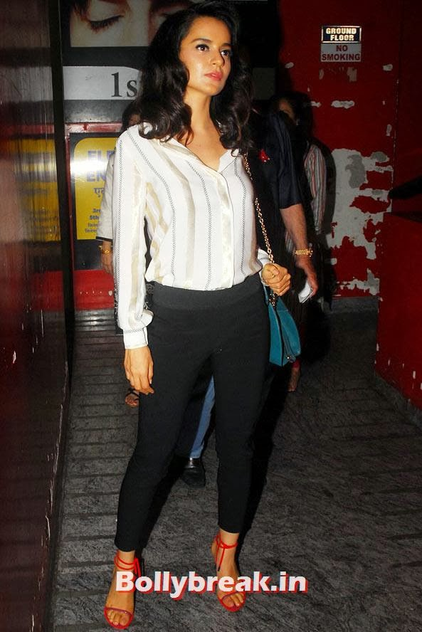Kangna Ranaut, Which Bollywood Actress Wears the Casual Clothes Best?