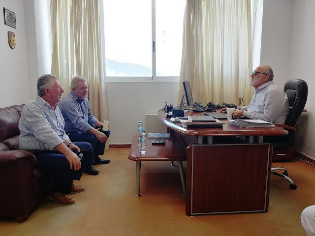 Συνάντηση Δημάρχου Ηγουμενίτσας με τον Υπουργό Ναυτιλίας και Νησιωτικής Πολιτικής