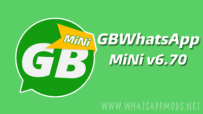 GBWhatsApp MiNi v6 70 Latest Version Download Now By Sam