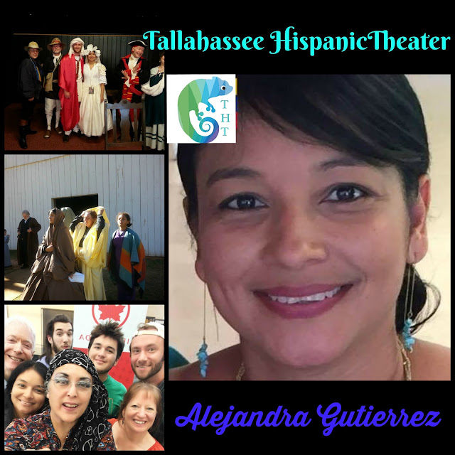 Alejandra Gutierrez Founder of Tallahassee Hispanic Theater