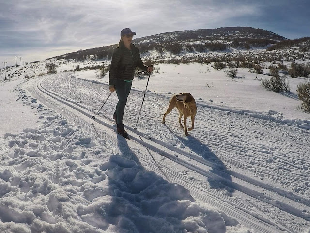 Cross Country Skiing at Round Valley, Park City
