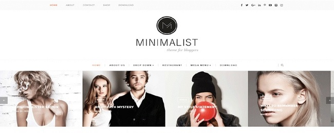 Masonry Gallery Grid Layout Minimalist Blogger Template