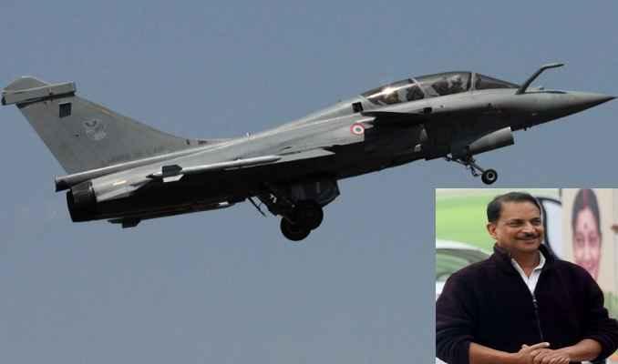केंद्रीय मंत्री राजीव प्रताप रूडी ने लिया राफेल फाइटर प्लेन में उड़ने का आनंद, बोले, जादुई था