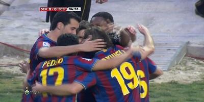 LFP-Week-37 Sevilla 2 vs 3 Barcelona 08-05-2010