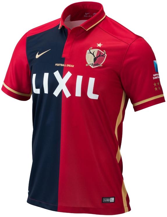 96fbc6f3eb Nike apresenta novas camisas do Kashima Antlers - Show de Camisas