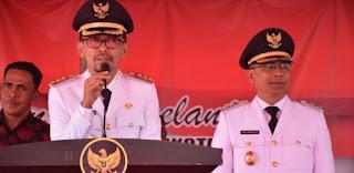 <b>Ribuan Warga Hadiri Tasyakuran Pelantikan Walikota dan Wakil Walikota Bima</b>