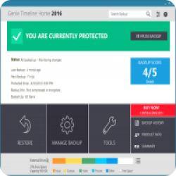 تحميل GENIE TIMELINE HOME 2016 لاخذ نسخة احتياطية للملفات الموجود في جهازك