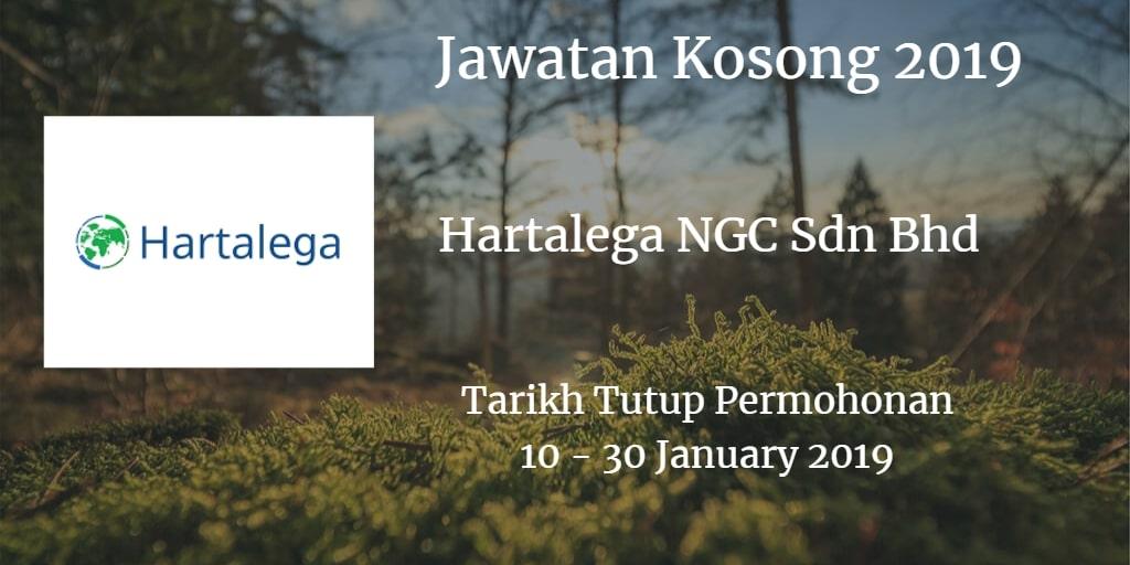 Jawatan Kosong Hartalega NGC Sdn Bhd 10 - 30 January 2019