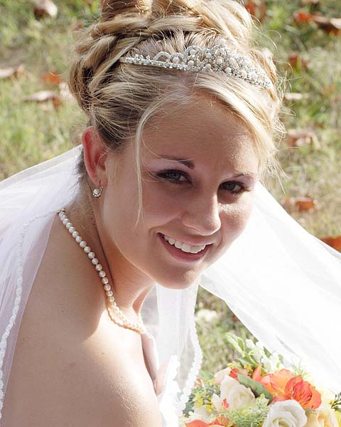 wedding tiara hairstyles
