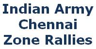 Army Chennai Zone, Tamil Nadu Rally, Andhra Pradesh Rally