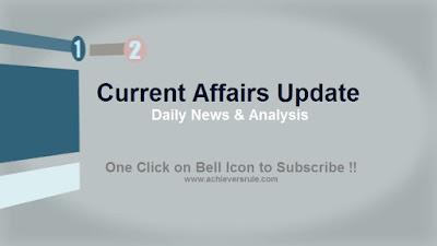 Current Affairs Updates: 24 August