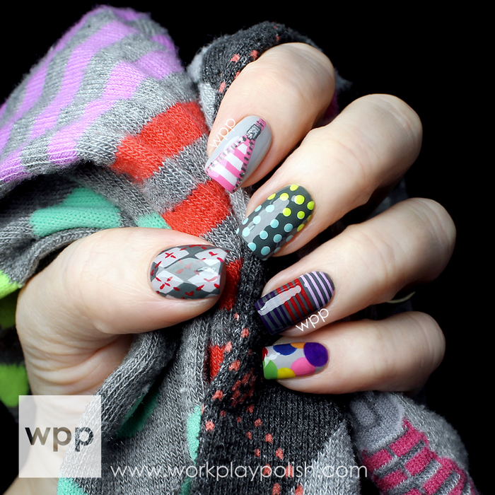 The Lacquer Legion Nail Art (Feb 2014) #LLadoration