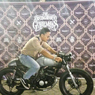 THE DISTINGUSHED GENTLEMAN'S RIDE surabaya