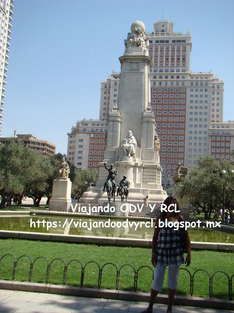 Que hacer, a donde ir, que visitar en Madrid. Plaza España de Madrid