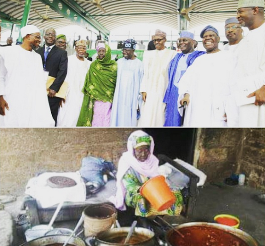90 year old woman who donated to buhari dead