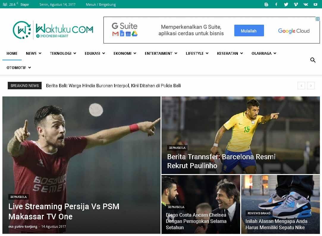 Waktuku.Com Portal Berita Nasional Terupdate