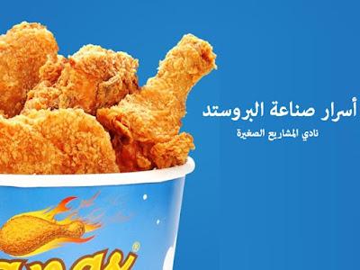 صناعة الدجاج المقلي